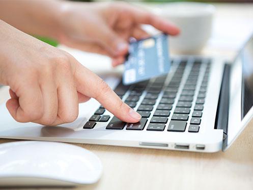 Pago con tarjeta online