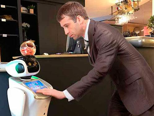 Robot en Hotel