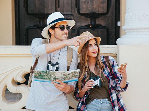 clientes, turistas